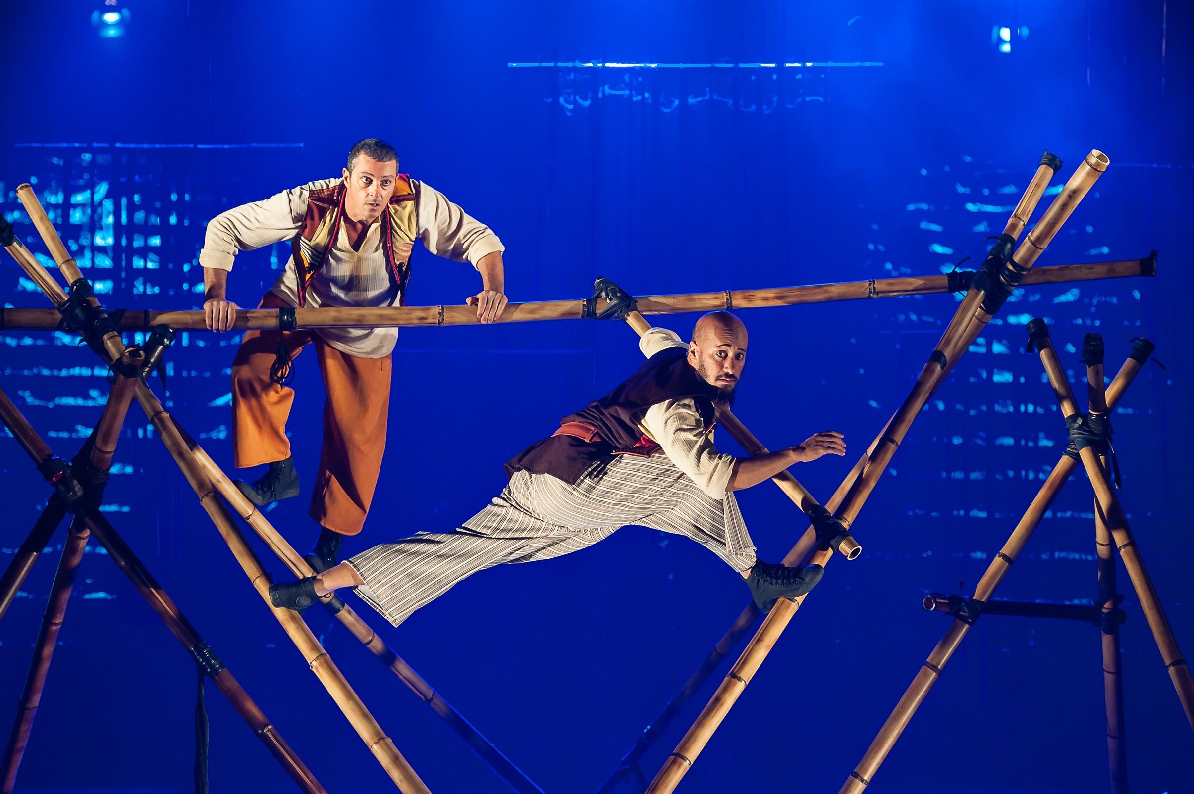 O premiado Simbad, o Navegante, da Cia. Circo Mínimo, reestreia dia 11 de maio na sala B do Teatro Alfa