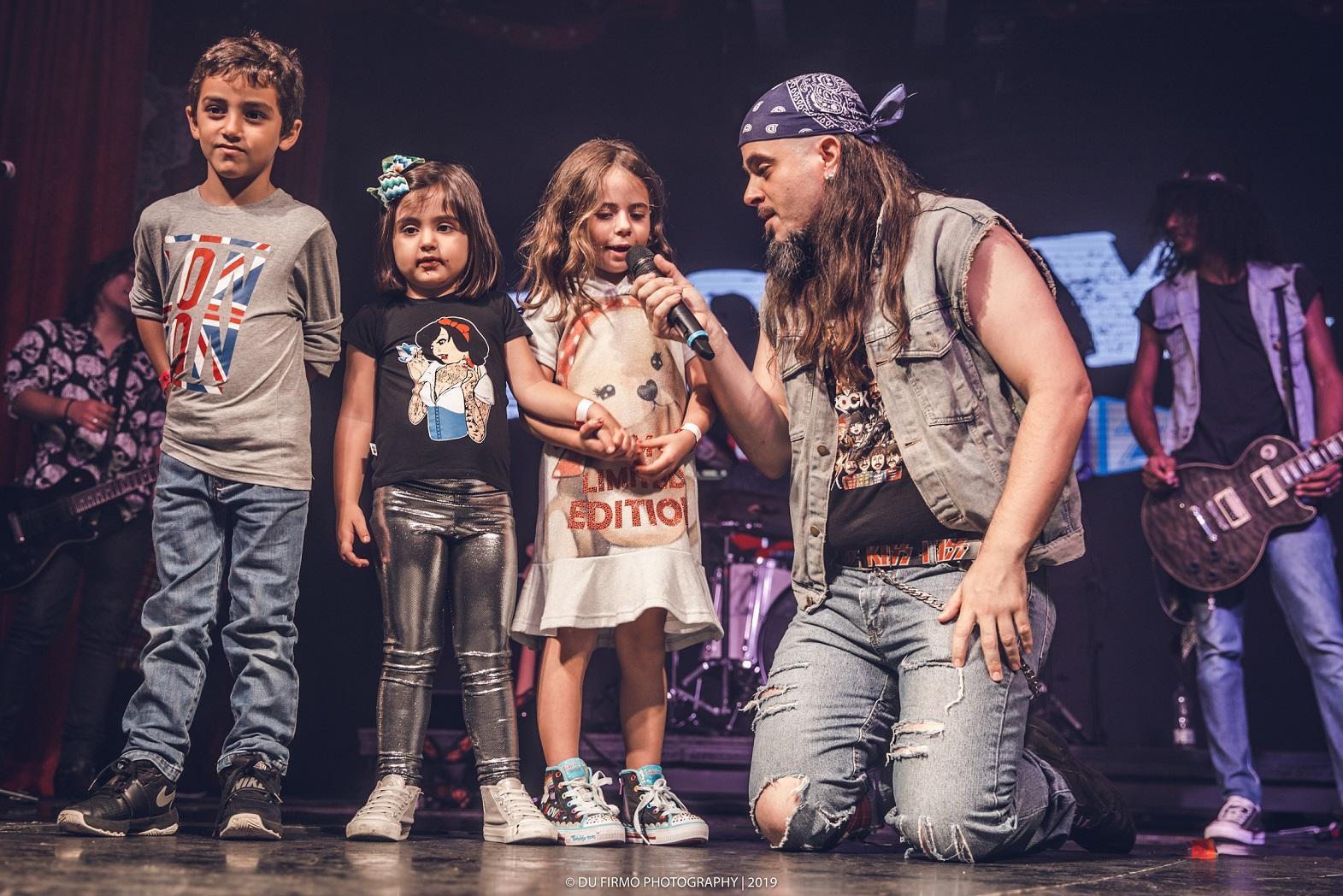 Férias no Teatro Alfa é com o Festival Rock for Kids de 6 a 28 de julho - Du Firmo