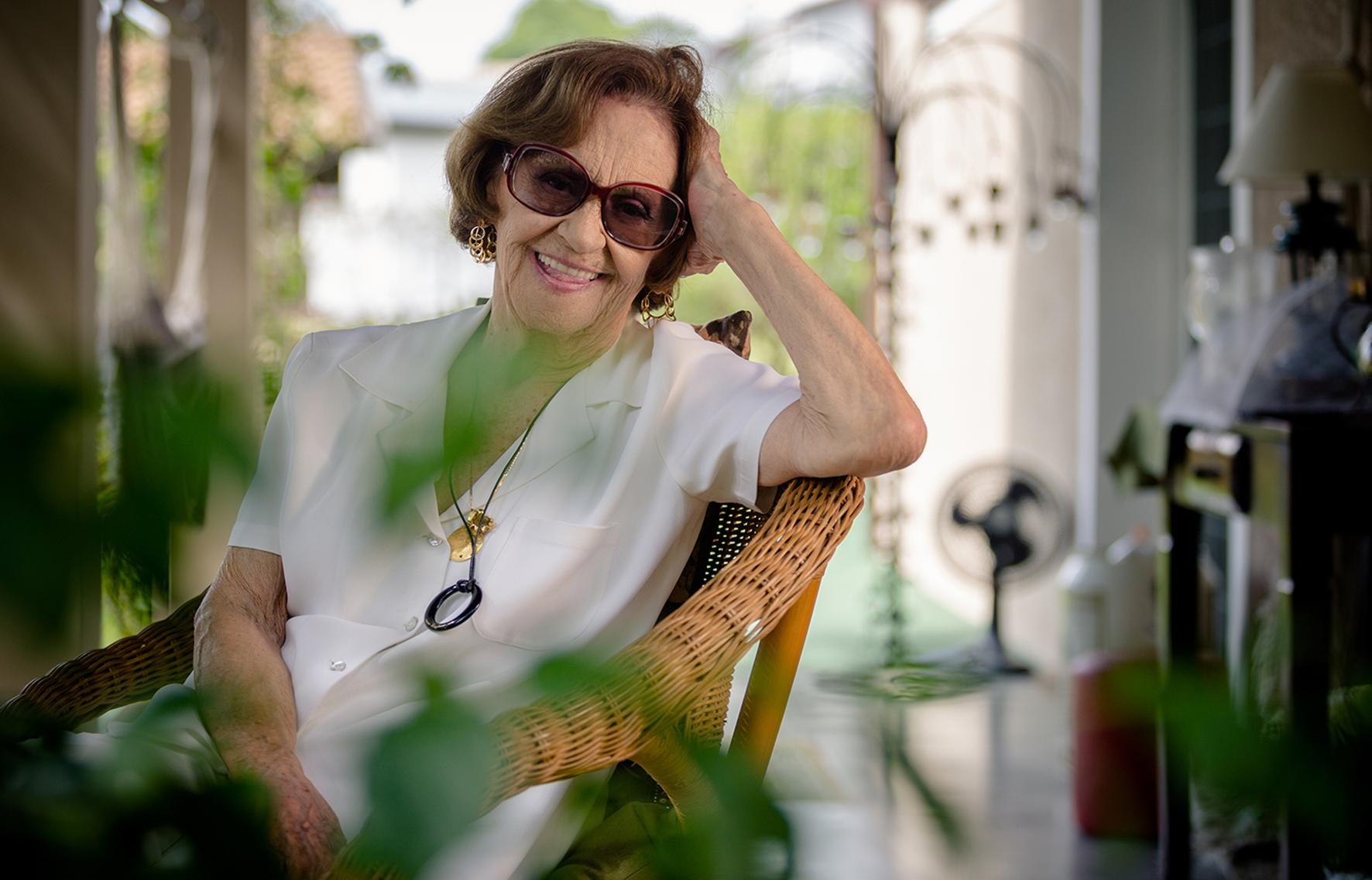 Laura Cardoso é convidada do Camarim em Cena e conversa com o público sobre os bastidores do teatro - Foto de André Seiti