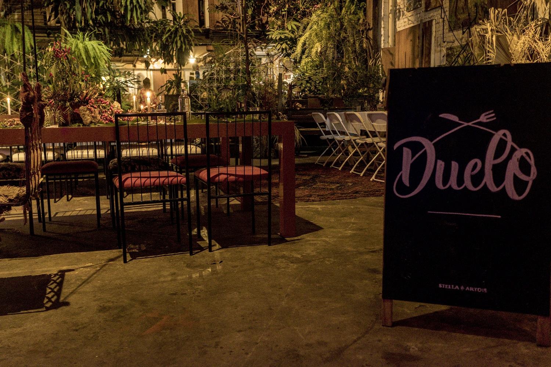 Stella Artois e Duelo de chefs criam restaurante temporário