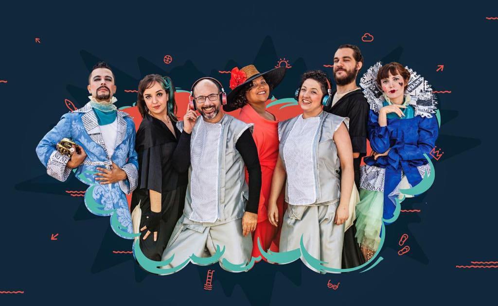 """Performance """"Se essa arte fosse minha"""" conecta crianças com a arte em apresentações gratuitas em Jacareí"""