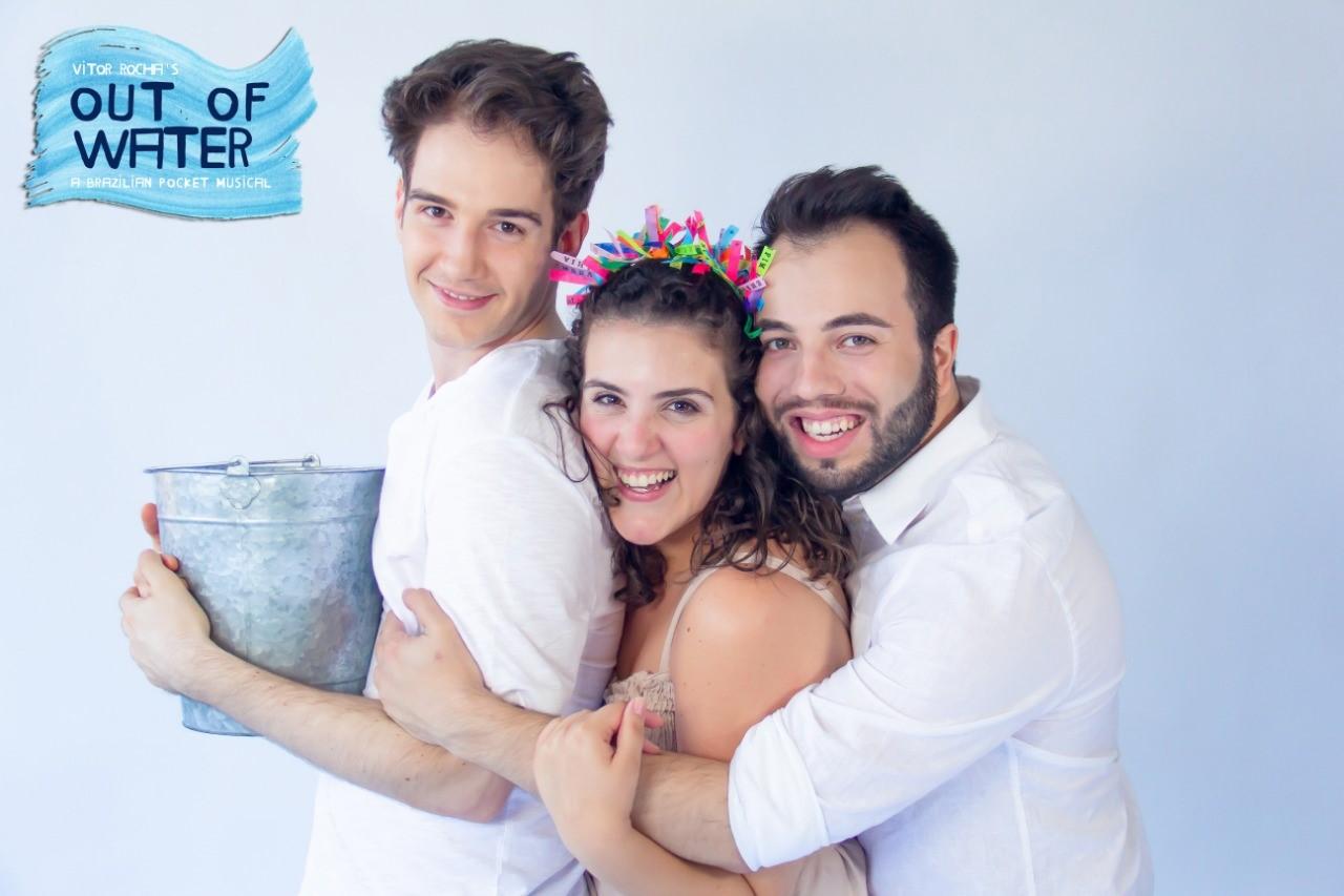 """""""Out Of Water Musical"""", versão americana do premiado """"Cargas D'água - Um Musical de Bolso"""", estreia em Nova Iorque"""
