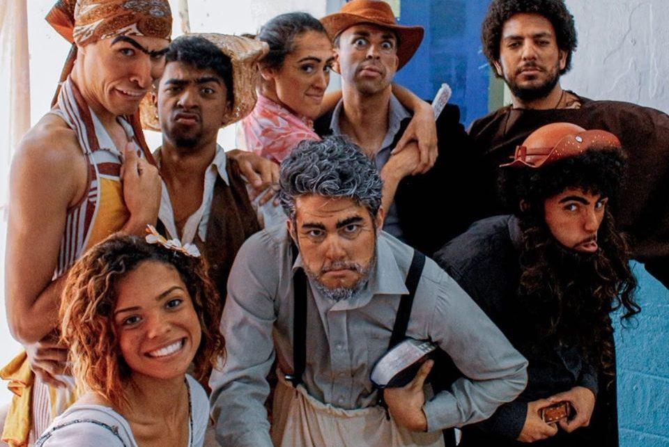 """Cia. Teatral Nômades apresenta o espetáculo """"O Santo e a Porca"""" de Ariano Suassuna"""